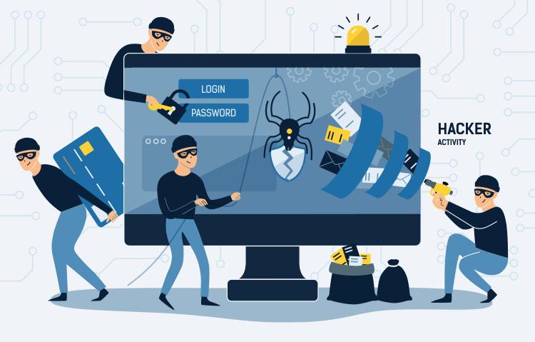 Bild Ridsiken Cyber-Sicherheit