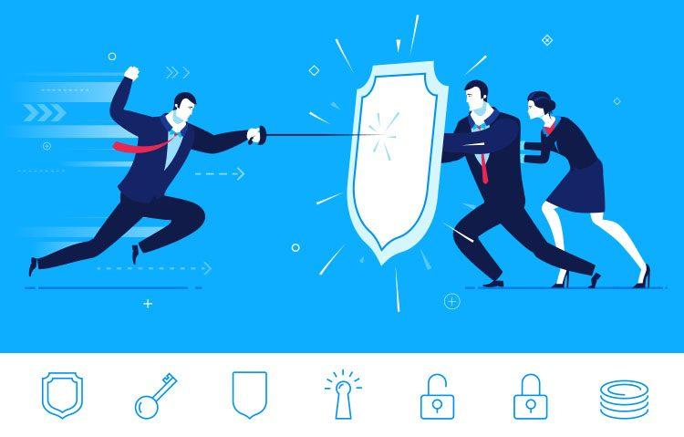 Bild Schutz vor Cyber-Angriffen