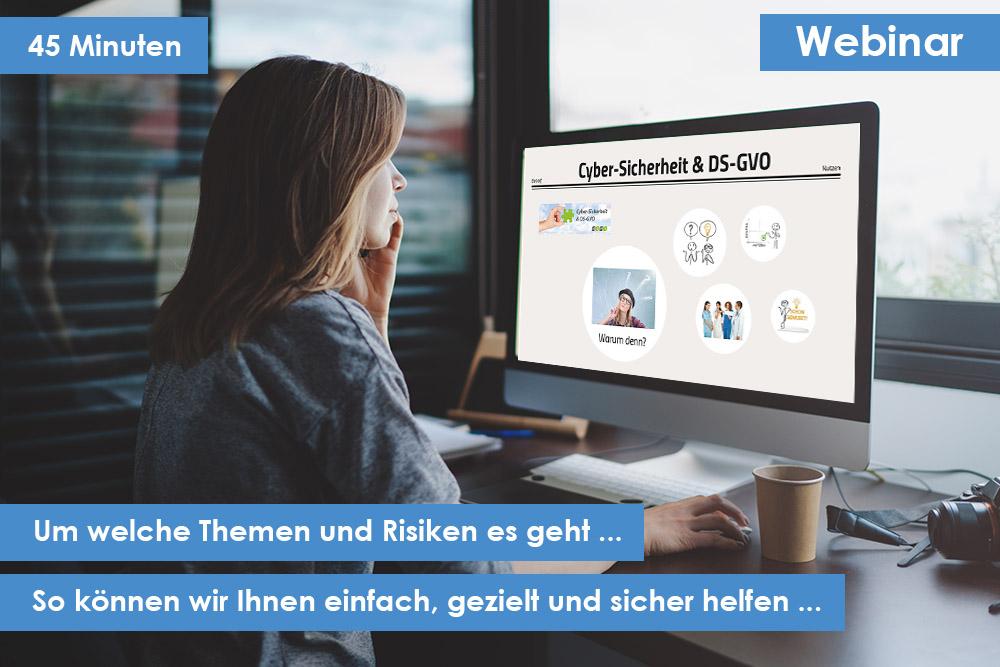 Bild Webinare für Ihre Sicherheit